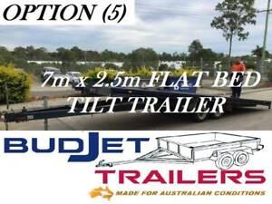 TRAILER HIRE BRISBANE 3.5T 7M TILT FLAT DECK TRAILER $90 P/D THIS AD I