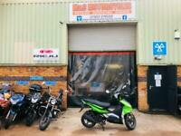 Motorini Sxi 125 automatic fuel injected scooter 2 years warranty included!!