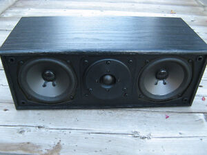 SONY CENTER CHANNEL WITH SOFT DOME SILK TWEETER Kitchener / Waterloo Kitchener Area image 1