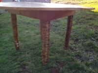 Folky Antique Kitchen Table