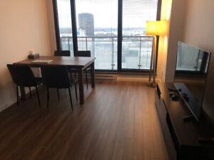 1(3.5)BR condo in downtown Lease transfer All utilities included