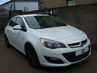 12 62 VAUXHALL ASTRA 1.6 VVT LIMITED EDITION 5DR WHITE 1 OWNER LEATHER BLUETOOTH