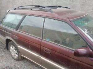 1999 subaru legacy outback parts, anniversary edition