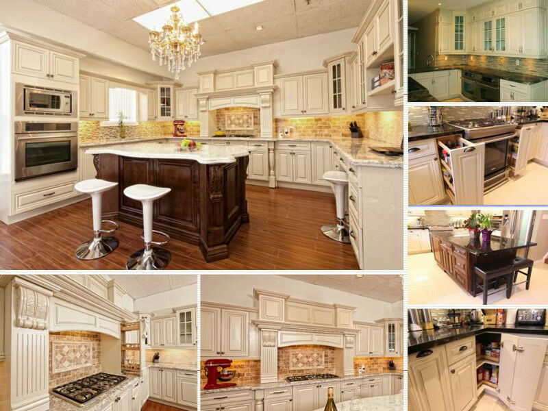MAPLE SOLID WOOD KITCHEN CABINETS---Best Deal Guaranteed