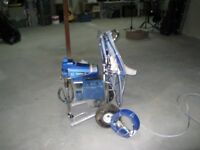 Graco Finish Pro 395 air and airless paint sprayer