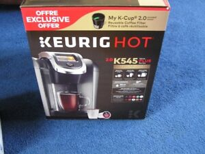 Keurig coffee brewer & Stainless Carafe(NEW OPEN BOX)