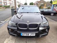 BAD CREDIT CAR FINANCE AVAILABLE 2008 58 BMW X5 3.0Sd 281bhp SE 7 SEATER