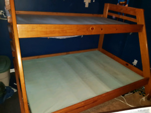 Bunk beds twin/double Solid wood