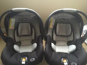 2 Chicco Key Fit 30 Infant Car Seats & bases