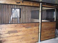 2 System Fence Stalls for Sale