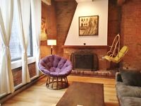 Old Montreal Condo Vieux Montreal  (1 bedroom)