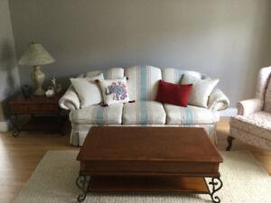 Sofa and love seat