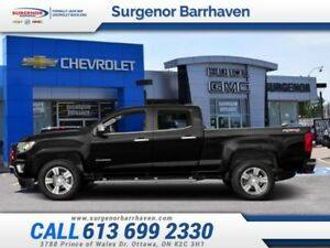 2015 Chevrolet Colorado Z71  - 4X4 -  Bluetooth - $240.14 B/W