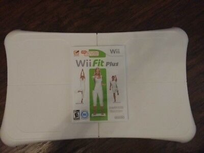 Nintendo Wii Fit Plus Game with Balance Board..  Works great!!