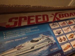 Speed X Boat- Original sealed box