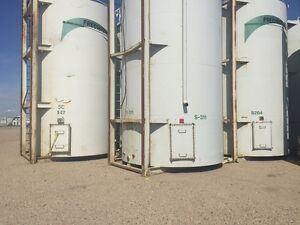400 bbl skidded oilfield tanks.  Save thousands over buying new