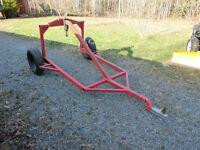 Custom Built ATV Log Hauler (AKA Logging Arch)