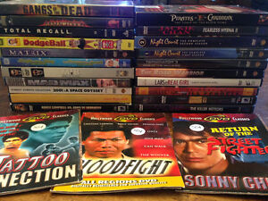 Lot of 72 DVDs