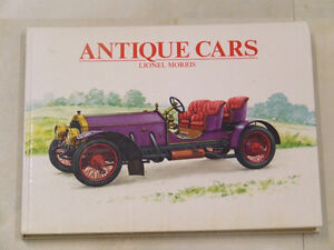 Lovely 1970 old-car book: Antique Cars by Lionel Morris