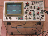 Dual Channel 35 MHz Oscilloscope with Manual