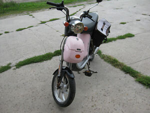 Pink switch 100 ebike  reduced to $375.00