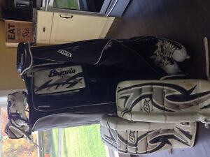 Brian's Junior goalie gear and other goalie items