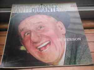 "Jimmy Durante rare old 1950's LP-entitled 'In Person"" -LOOK"