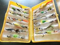 coffre a mouches a peche, hamecons doubler, Fly fish box