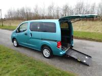 2011 61 Nissan NV200 1.5 Dci ONLY 46K Wheelchair Accessible Disabled Vehicle WAV