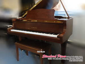 "Locally Pre-owned Yamaha Grand, NOT Imported ""Gray Market"" Piano"