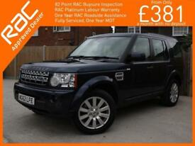 2013 Land Rover Discovery 4 - 3.0 SDV6 Turbo Diesel XS 4x4 4WD 6 Speed Auto 7 Se