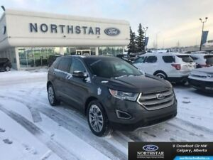 2017 Ford Edge Titanium  - Leather Seats -  Bluetooth - $273.62