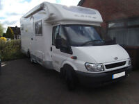 LAIKA X695R, 4 BERTH, LOW PRO, LARGE GARAGE, FIXED BED, EXCELLENT CONDITION