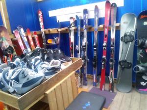 Ski alpin pour adulte skis 154 a 177 cm