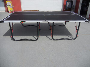 Table tennis,ping pong 9x5 bois,jeux garage,exercice maison