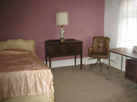 AVAILABLE AUGUST----2 FURNISHED STUDENT ROOMS