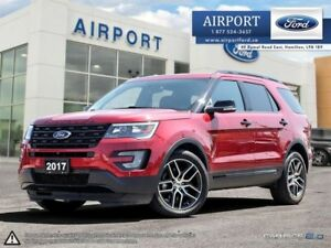 2017 Ford Explorer Sport 4WD with only 29,432 kms