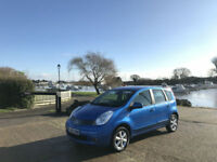 2008/58 Nissan Note 1.6 16v Acenta 5 Door MPV Blue