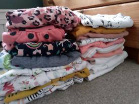 Baby girl bundle 3-6 months 21 items NEXT, etc.