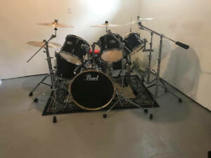 6pc Pearl Export with all cymbals and gear