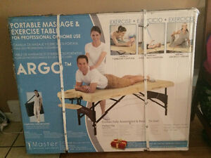 Brand new in box massage table