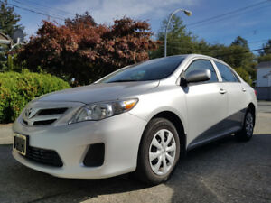 2013 Toyota Corolla - One Owner- 69K KMS - $9800