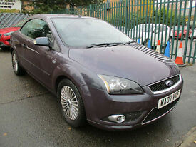 Ford Focus CC 2.0TDCi CC-3**DIESEL CONVERTIBLE**TOP OF THE RANGE**