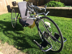 Hand Crank Recumbent Tricycle