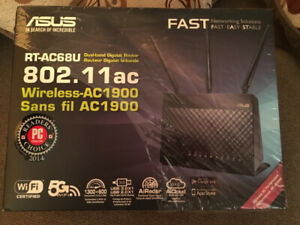 ASUS RT-AC68U Dual-Band Wireless Gigabit Router