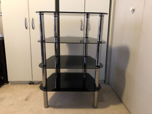 Corner tv stand (glass)