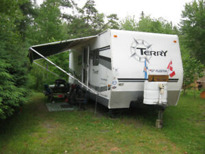 2006 -  28' Terry Travel Trailer for sale.