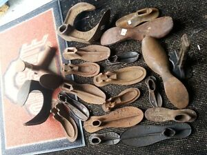 Antique Shoe Maker Cobblers Repair Set