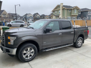 2016 Ford F150 SuperCrew 4x4 XTR with Options and Accessories