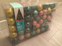 over 80 christmas ornaments